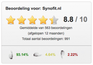 mijlpaal ekomi reviews synofit
