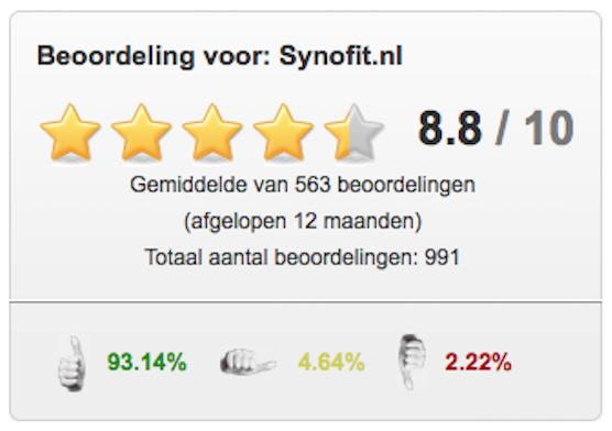 Bijna 1000 reviews van onze webshop!