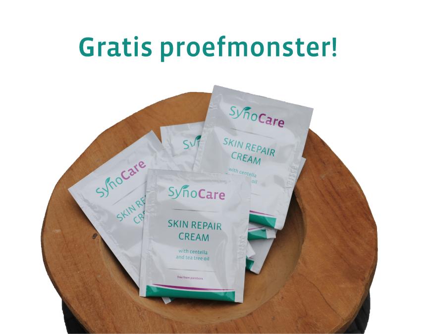 Gratis proefmonster Skin Repair Cream