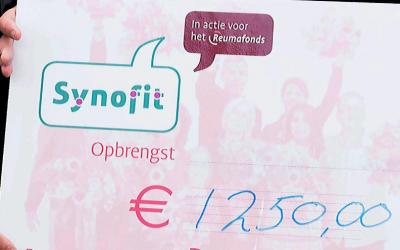 Synofit doneert opnieuw aan het Reumafonds