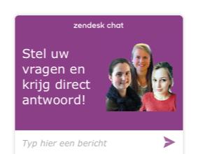Chatten met Synofit-medewerkers