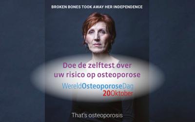20 oktober: Wereld Osteoporose Dag