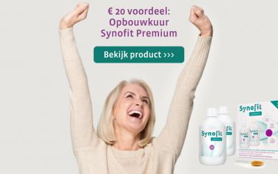 Nieuw: voordeelverpakking Synofit Premium Plus (complete opbouwkuur)