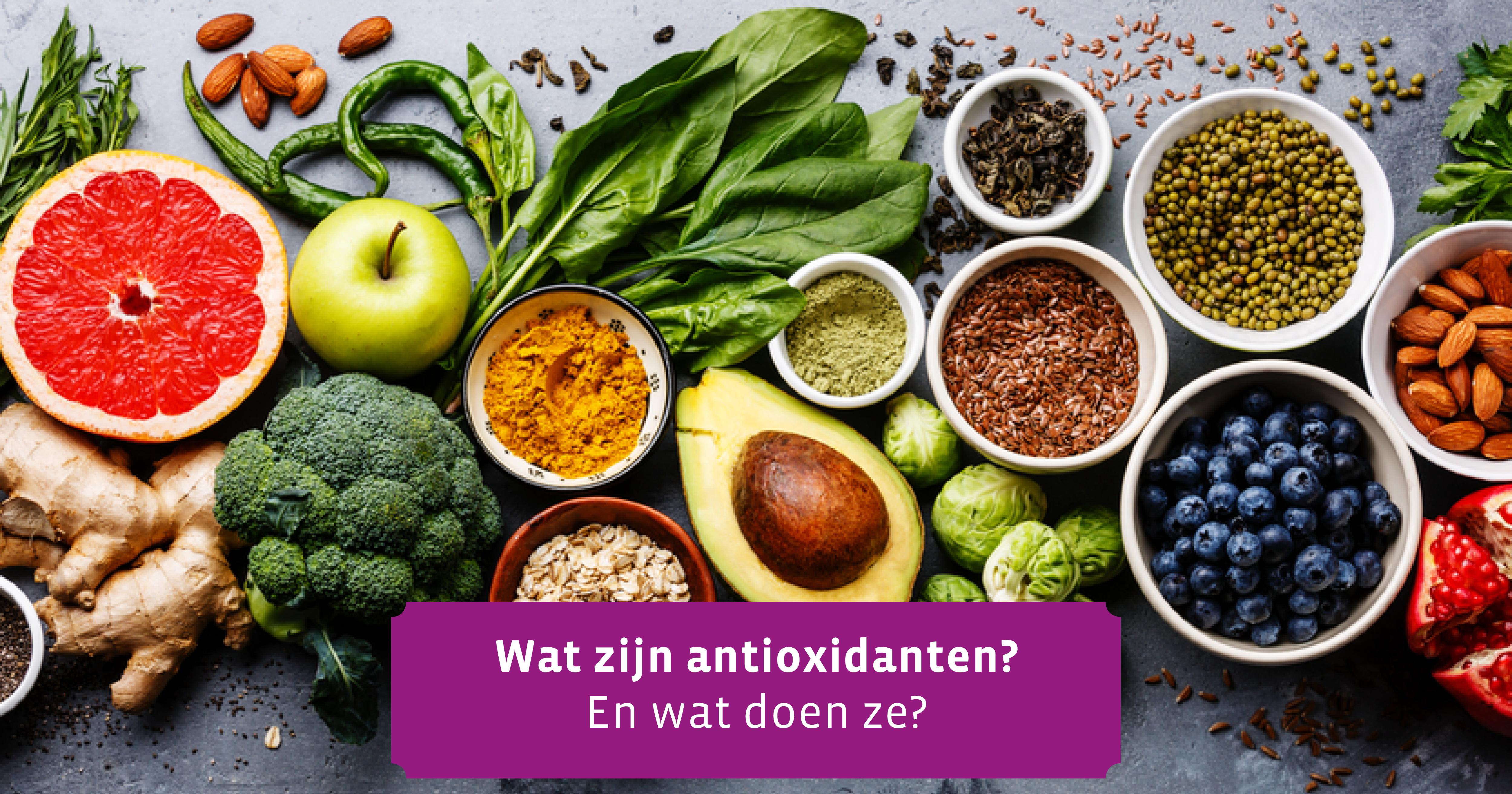 te veel antioxidanten