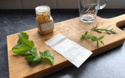 Doe het zelf: Zwarte bes-blad thee